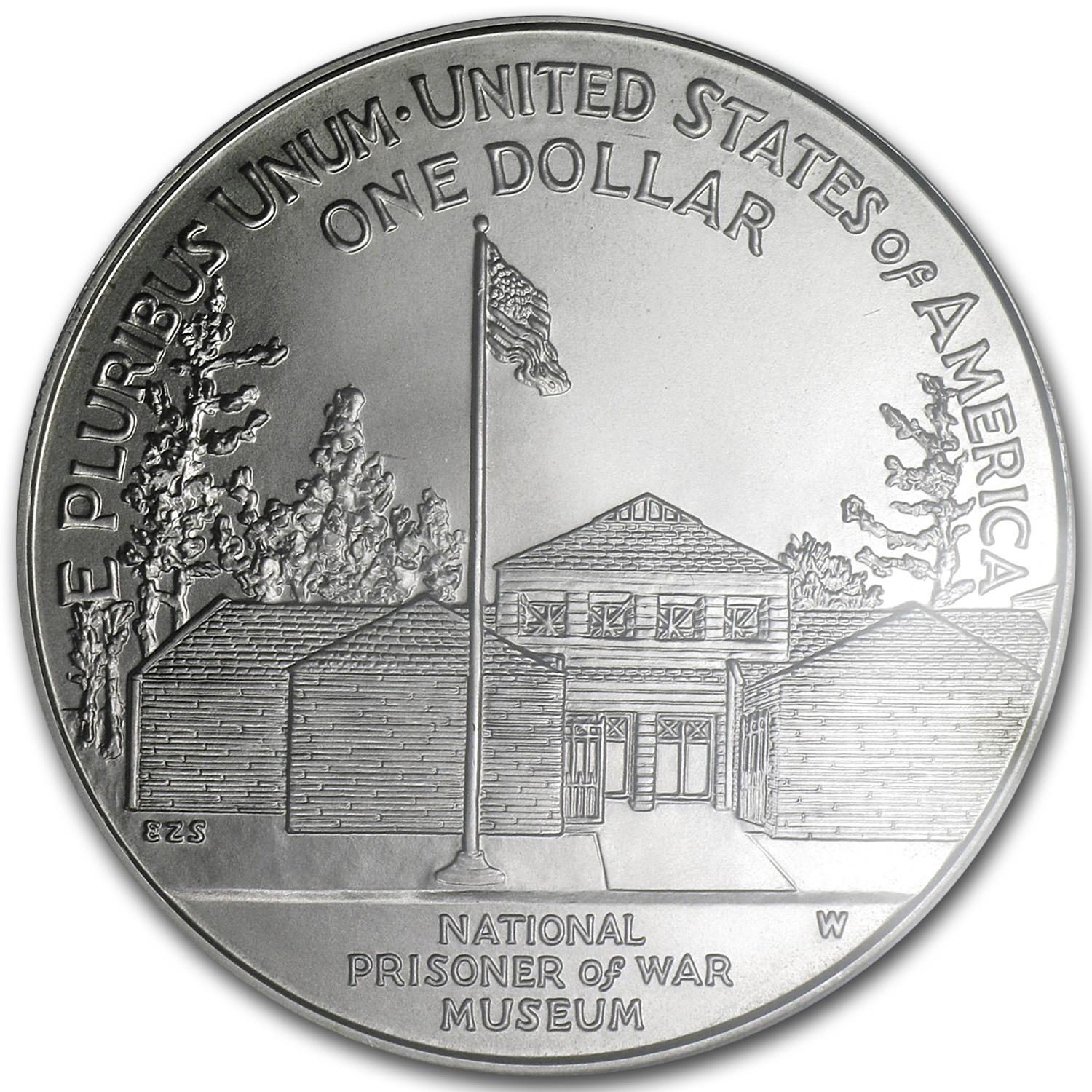 1994-W Prisoner of War $1 Silver Commemorative - MS-69 PCGS